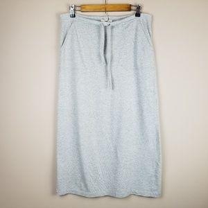 J. Crew Jersey Knit Maxi Skirt Size M